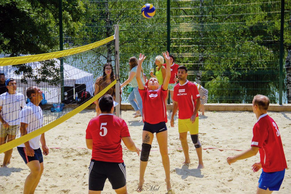 Пляжные виды спорта в Ставрополе набирают популярность