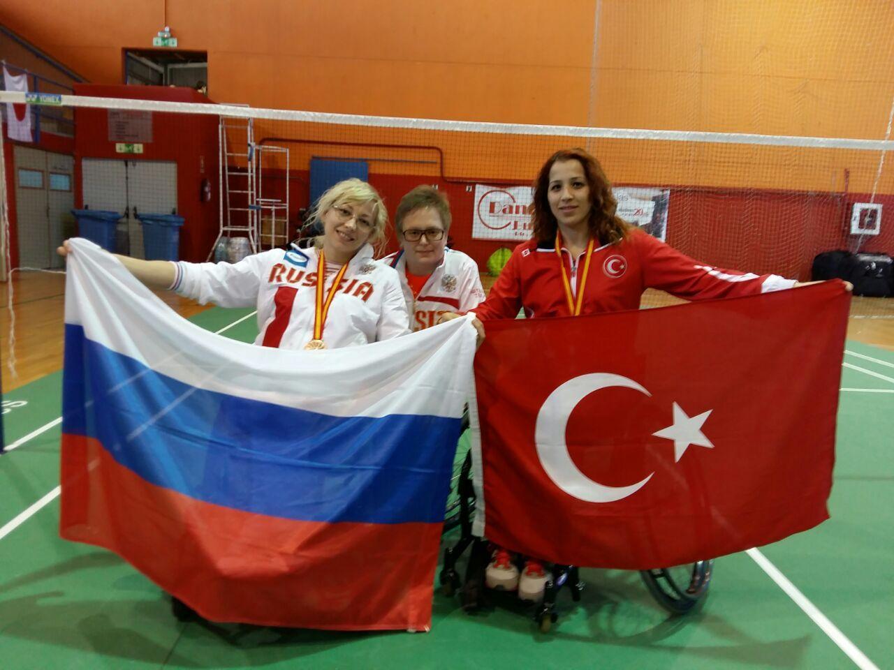 Ставропольская парабадминтонистка стала призёром международного турнира