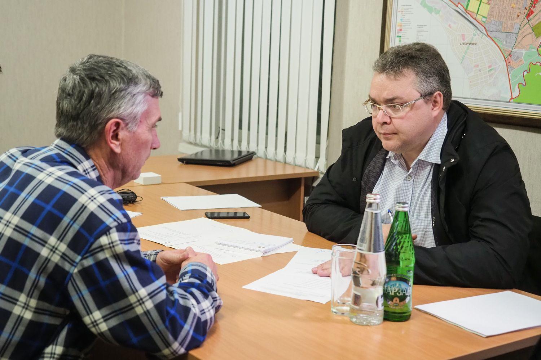 Граждане Краснокумского поведали губернатору Ставрополья опроблемах села