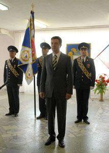 Ставропольская воинская часть получила новое знамя