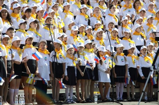 В Ставрополе 9 мая выступит тысячный детский хор