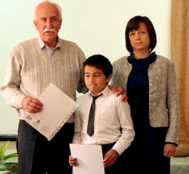 В Кисловодске награждён школьник, героически участвовавший в тушении пожара