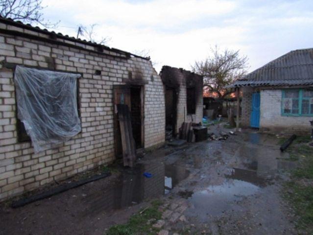 В Ставропольском крае загорелся дом, погиб 75-летний мужчина