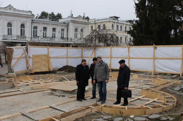 В Кисловодске накануне Нового года после реставрации откроется старинный фонтан «Лягушки»