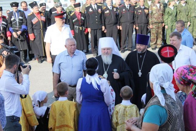 На Ставрополье освятили храм Успения Пресвятой Богородицы