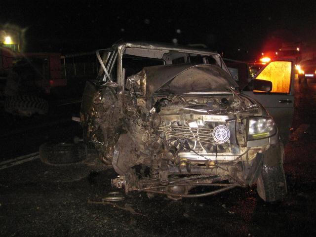 4 автомобиля столкнулись нафедеральной трассе «Кавказ»