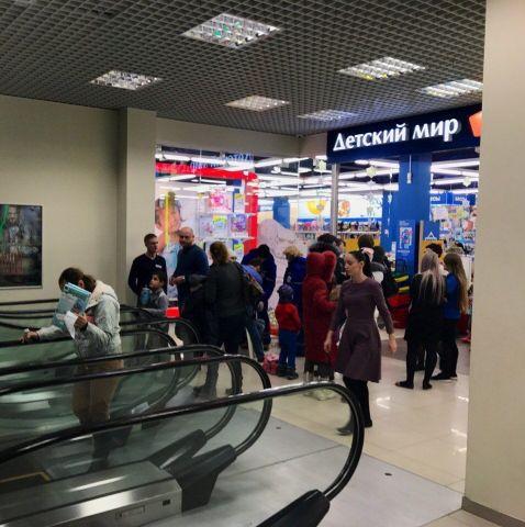 Происшествие на эскалаторе в Ставрополе попало на видео