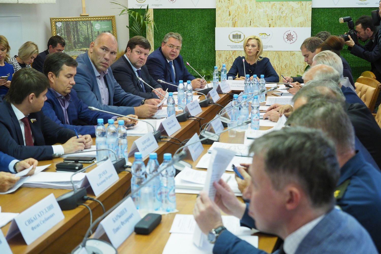 Федеральные депутаты обсудили меры противодействия паводкам на Ставрополье