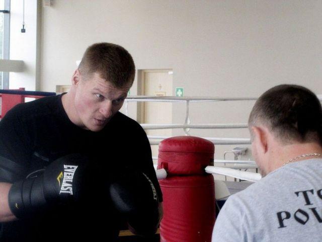 Российский боксёр Александр Поветкин приехал тренироваться в Кисловодск
