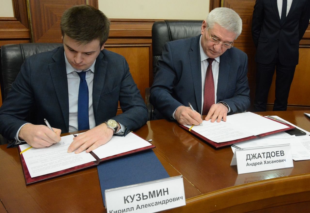 В мэрии Ставрополя подписано соглашение о сотрудничестве в области развития малого и среднего предпринимательства
