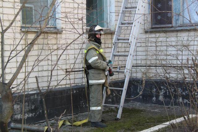 В одной из школ на Ставрополье загорелся учебный класс