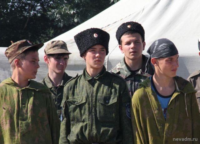Юные казачата Невинномысска поучаствуют в военно-полевых сборах