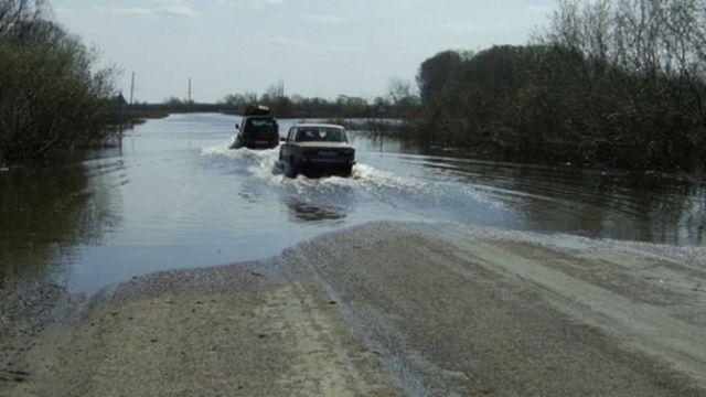 Автодорога «Зеленокумск — Селивановка — Нины» закрыта в связи с переливами воды