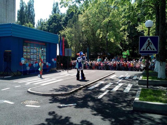 В Ставрополе открылся детский автогородок