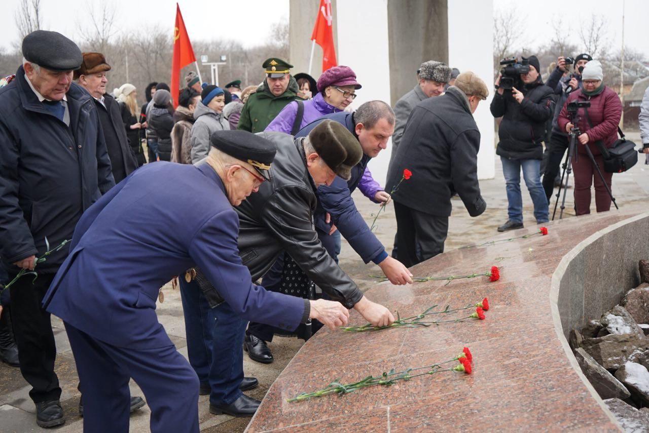 В Минеральных Водах прошёл митинг в честь освобождения от фашистских захватчиков
