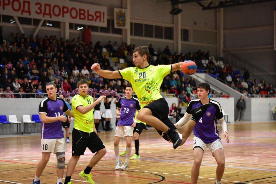 Ставропольские гандболисты разгромили москвичей