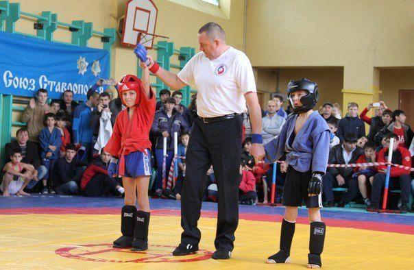 ВСтаврополе прошёл турнир побоевому самбо памяти Николая Голодникова