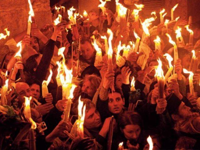 Благодатный огонь из Иерусалима прибудет в Ставрополь