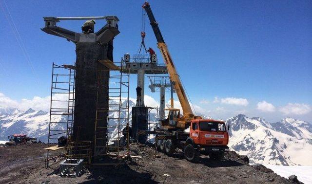 В Приэльбрусье завершается строительство самой высокой в Европе канатной дороги