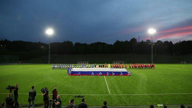 На Ставрополье торжественно встретили сборную Нигерии по футболу