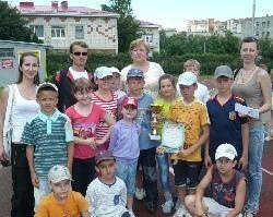 Прошла Спартакиада среди летних пришкольных оздоровительных лагерей