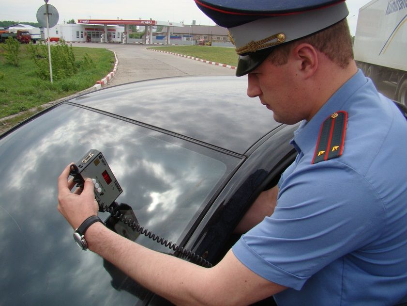 На Ставрополье за два дня выявлено 470 автомобилей с тонировкой