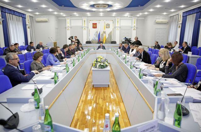 В Думе Ставропольского края рассмотрели законопроекты о «детях войны»