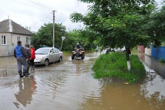 В нескольких районах Ставрополья проведут эвакуацию в связи с паводком