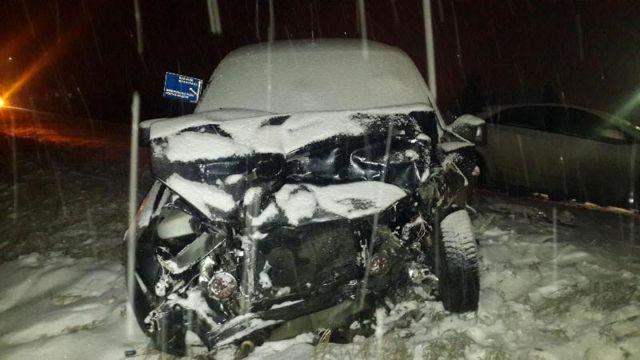 На Ставрополье столкнулись две легковушки, пострадали четыре человека