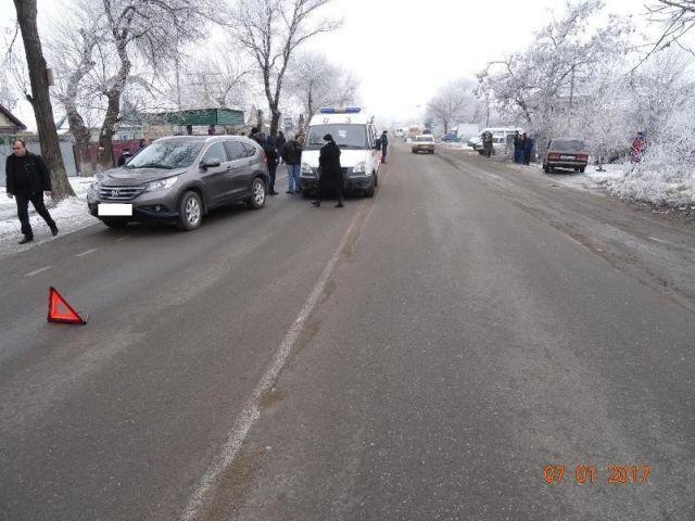 На Ставрополье водитель иномарки сбил бабушку с внучкой