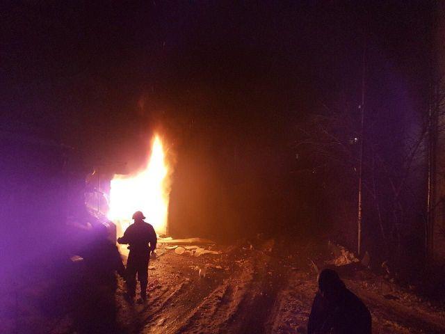 В Кисловодске взорвался автомобиль