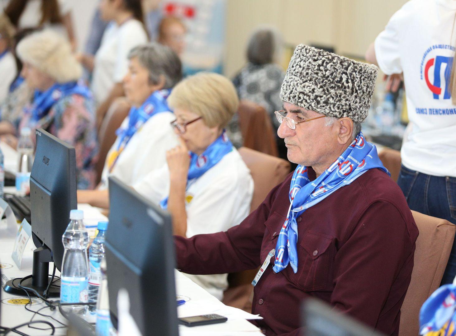 Ставропольские пенсионеры стали призёрами Всероссийского чемпионата по компьютерному многоборью