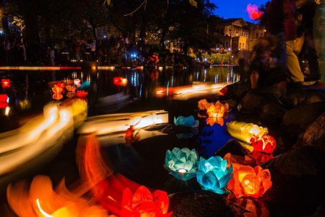 На Комсомольском пруду Ставрополя пройдёт фестиваль водных фонариков