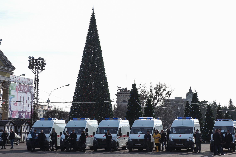 Клиники Ставрополья получили 21 новейшую машину «скорой помощи»