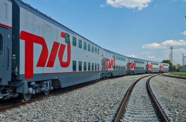 Первый двухэтажный поезд «Кисловодск — Москва» отправится из города-курорта 2 августа