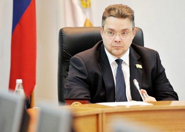 Глава Ставропольского края встретился с Владимиром Пучковым