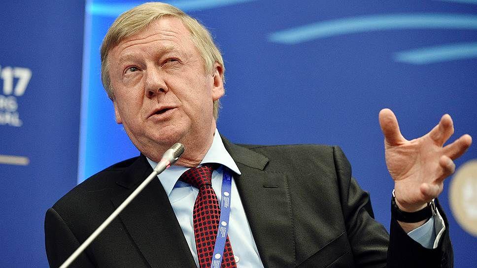 Анатолий Чубайс считает цены наэнергоносители важнее выборов