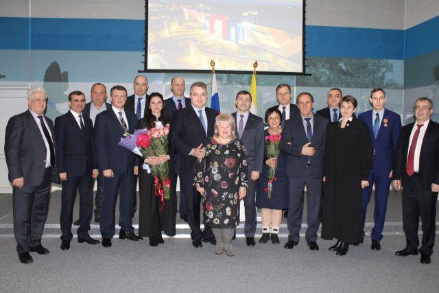 В Ставрополе представили вновь назначенных судей и наградили лучших