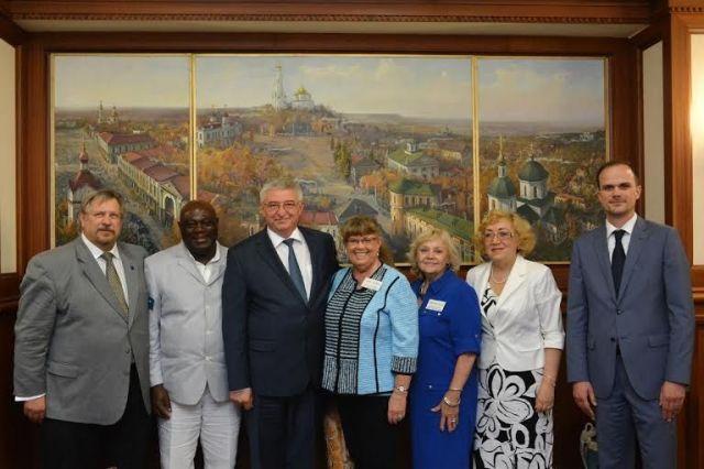 В Ставрополь прибыла делегация американского города-побратима Де Мойн