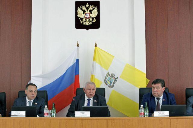Краевые депутаты обсудили меры по решению проблем со сбором НДФЛ