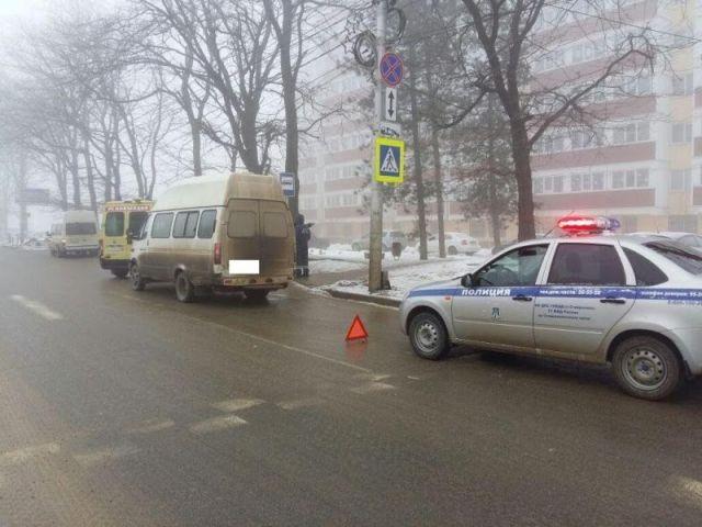 В Ставрополе водитель маршрутки сбил 81-летнего пенсионера