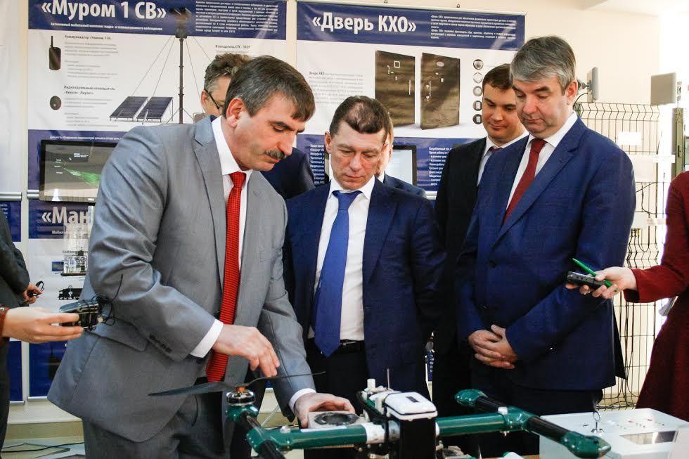 НаСтаврополье руководитель Минтруда Топилин провел встречу сгубернатором Владимировым