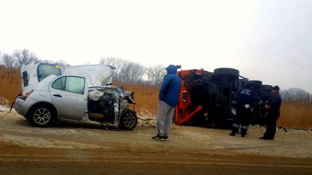 Вблизи Ставрополя произошла серьёзная авария