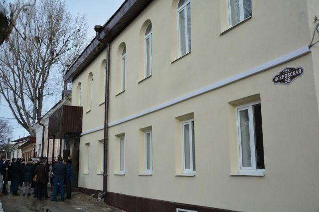 К Новому году погорельцы с Ясеновской получили лучший подарок отремонтированный дом