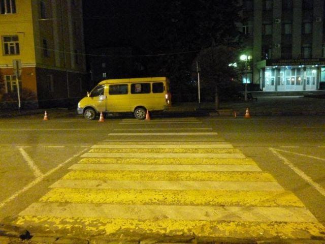В Ставрополе водитель маршрутки сбил 10-летнюю школьницу