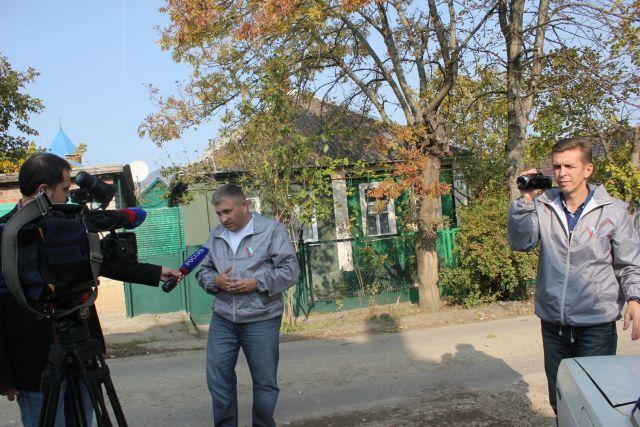 Активисты ОНФ возмущены ремонтом дорог посёлка Иноземцево и Железноводска