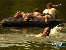На Комсомольском пруду наконец открыт купальный сезон