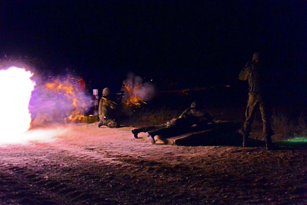 В Ставропольском крае 500 военнослужащих поучаствовали в ночных стрельбах