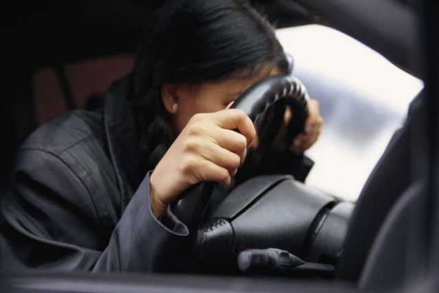 Пьяную автоледи задержали полицейские в Невинномысске