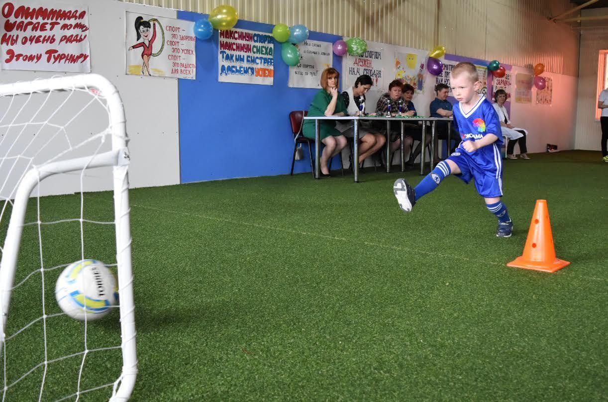 В Ставрополе прошла олимпиада по футболу для дошкольников